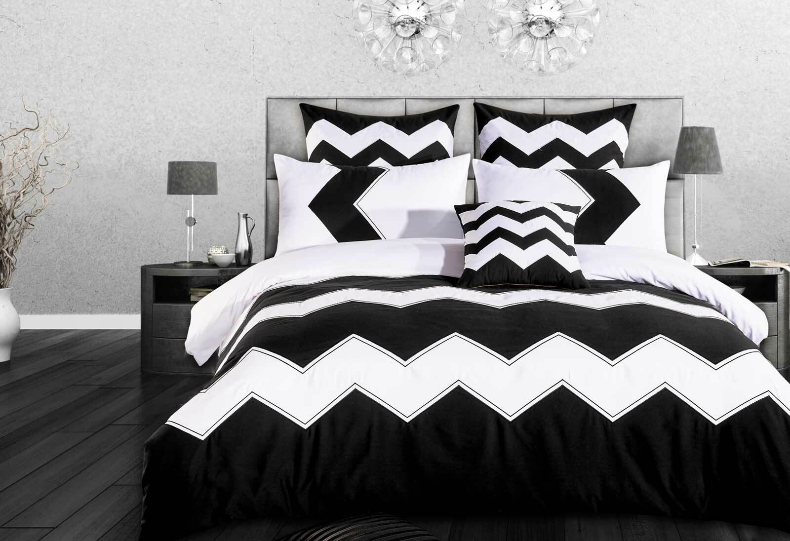 Napoli Striped Quilt Cover Set Duvet Cover Set In King Queen Size