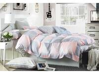 King size Pastel Rio quilt cover set / doona cover set with pillowcase