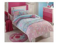 Last Stock - Single Size Birdcage Girls Quilt Cover Set