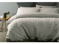 Queen Size Quilt Cover Set for Bowen Silver Design