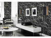 Modern Marble stone look Black and White wallpaper