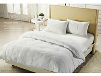 LAST ONE - King Size White Quilt Cover Set