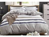 King size Milton quilt cover set / doona cover set with pillowcase