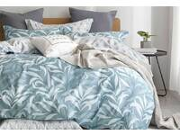 Luxton Ackley Blue 100% Cotton Quilt Cover Set