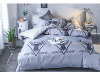 Last Stock - Single Reindeer Deer Pattern Quilt Cover Set