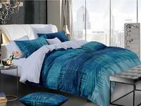 Queen Size Luxton Byron Turquoise Quilt Cover Set
