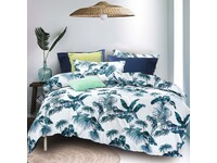 Mirth Tropical Plant Quilt Cover Set