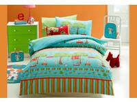 Last Stock - Single Size Oliver Kids Quilt Cover Set