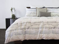 100% Cotton Reversible Sahara Quilt Cover Set in Queen/ King Size