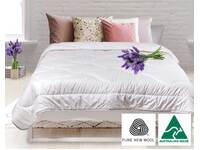 Australian Wool Lavender Quilt Doona 350GSM for All Seasons