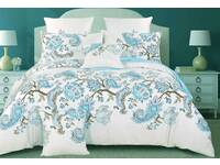 Ricoco Bardi 100% Cotton Quilt Cover Set in King or Queen Size
