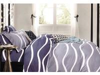 Luxton 100% Cotton Marley Wave  quilt cover set / doona cover set