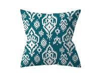 Modern 45x45cm Teal Square Cushion Cover Collection - 9