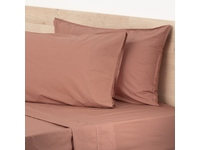 King Size Clay Lorimer 300TC Stone Washed Cotton Sheet set