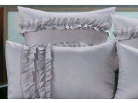 Jurie Silver European pillowcases (twin pack)