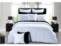 KING SIZE Lamere White Quilt Cover Set / dooan cover set