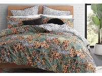 Zulu Animal Quilt Cover Set (Single Size)