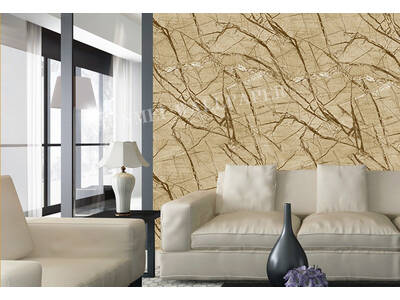 Modern Marble stone look Sand Yellow wallpaper